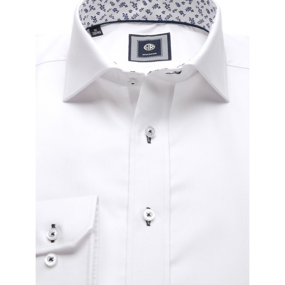 London shirt in white (height 176-182) 10048