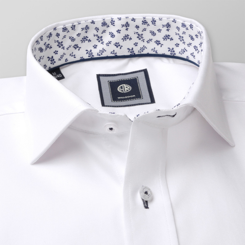 London shirt in white (height 176-182) 10049