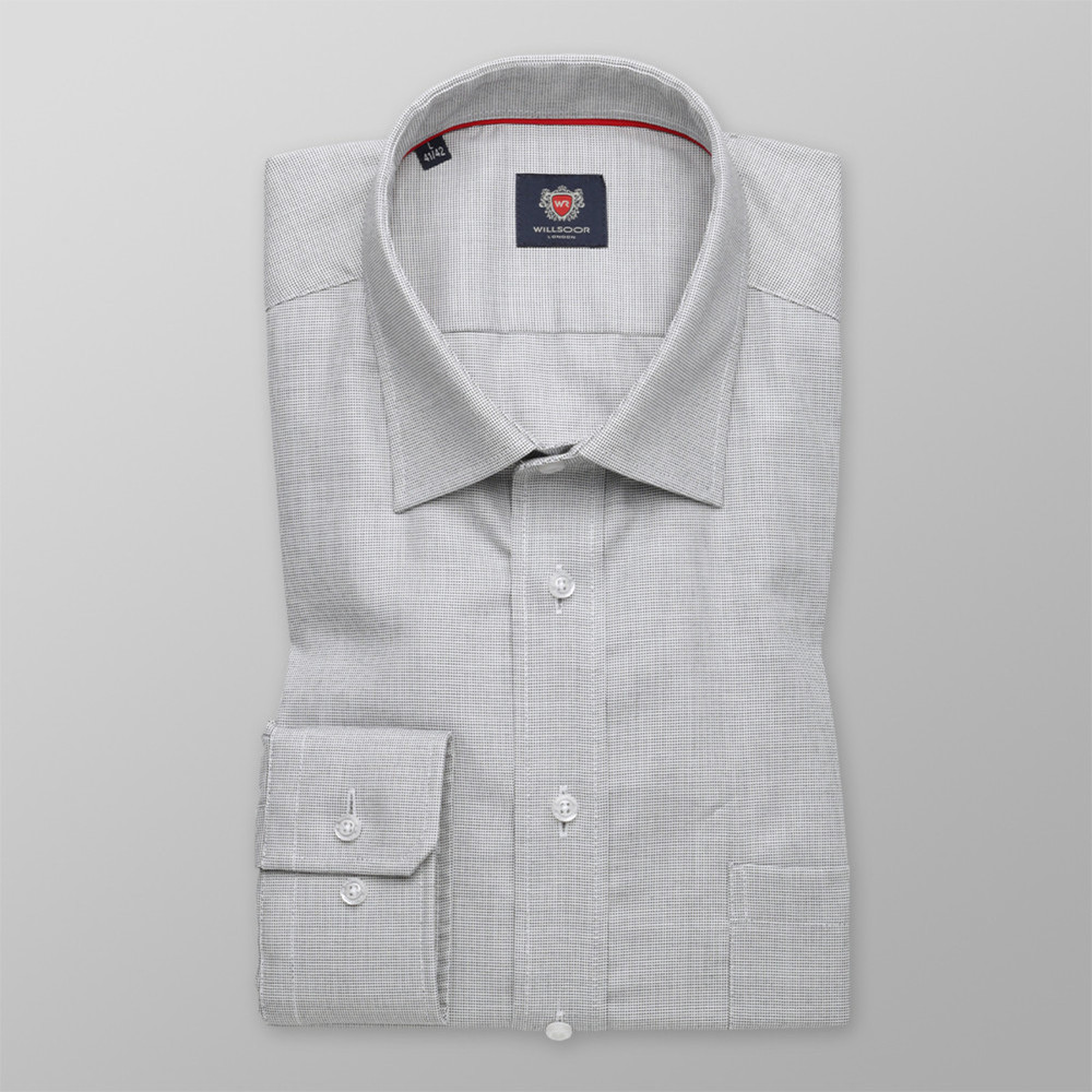 London shirt in grey color (height 176-182) 10051