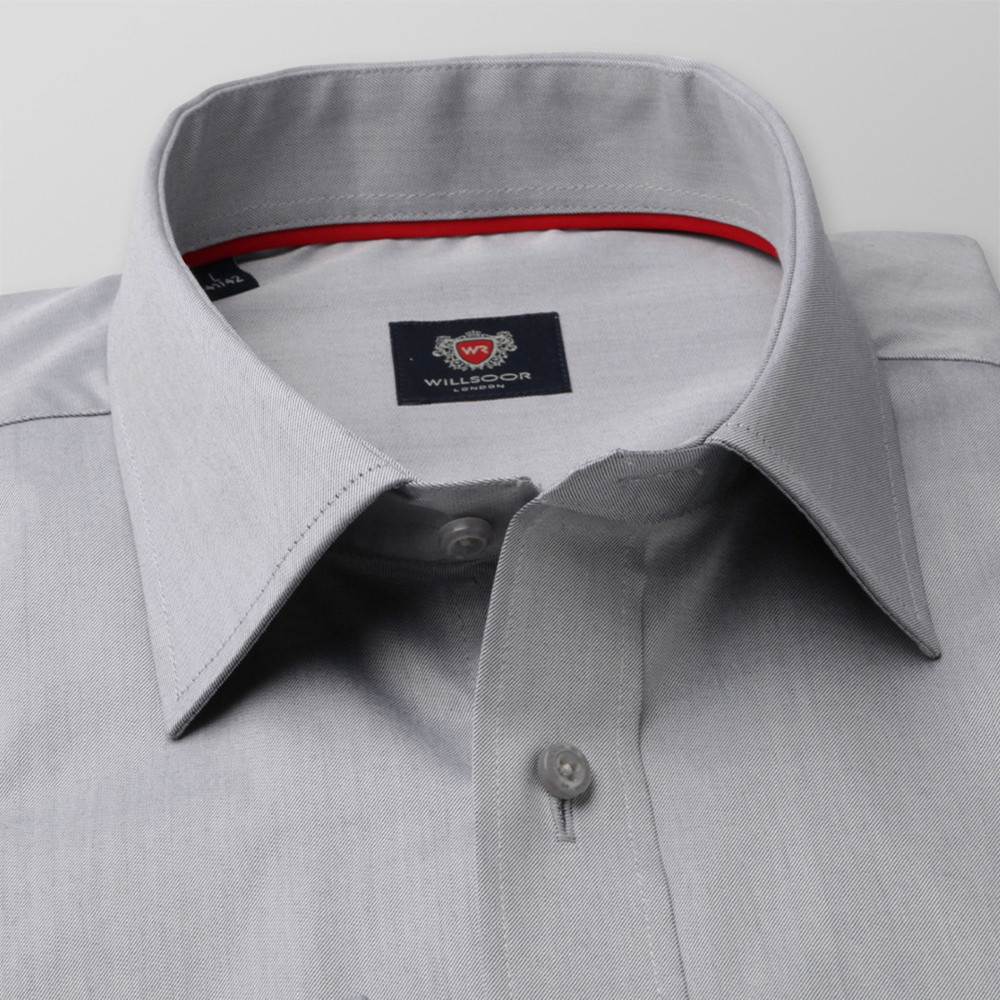 London shirt in light grey (height 176-182) 10082
