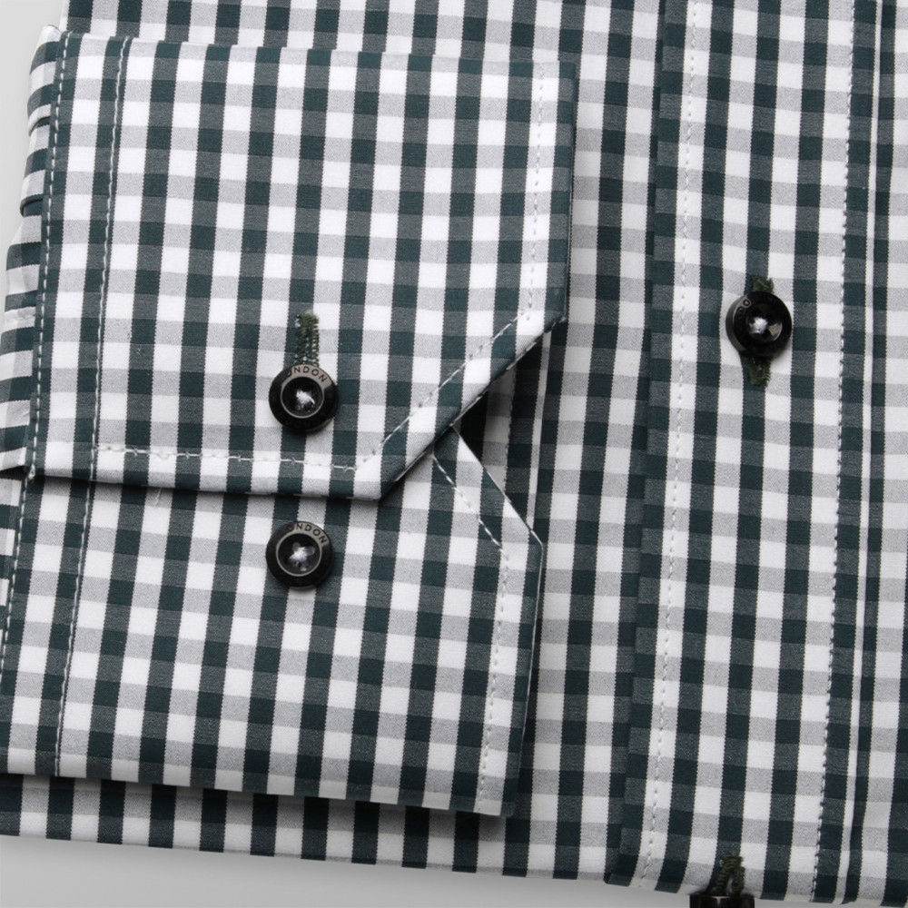 London shirt with gingham pattern (height 176-182) 10145