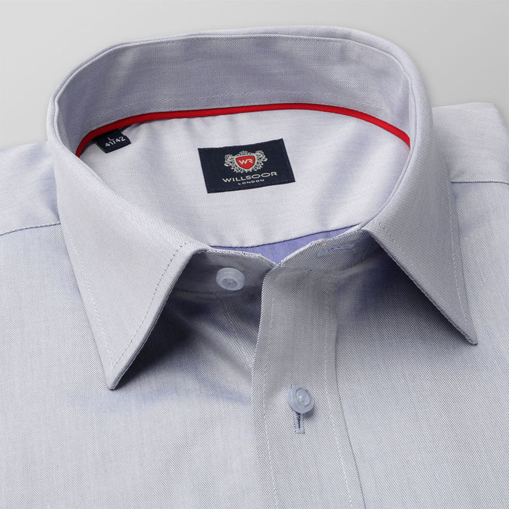London classic fit shirt in light grey (height 198-204) 10179