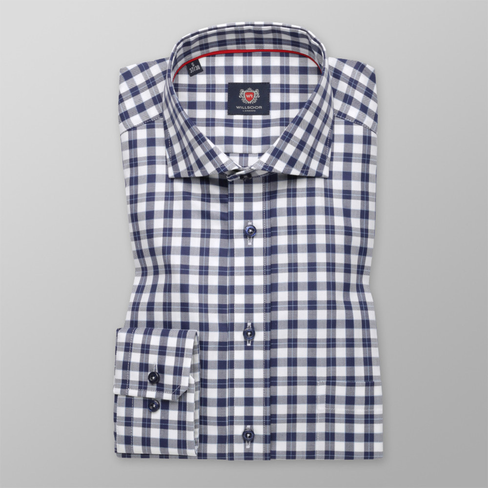 London shirt with check pattern (height 176-182) 10192