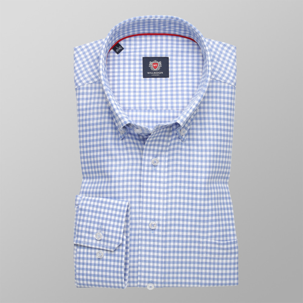 London shirt with check pattern (height 176-182) 10196