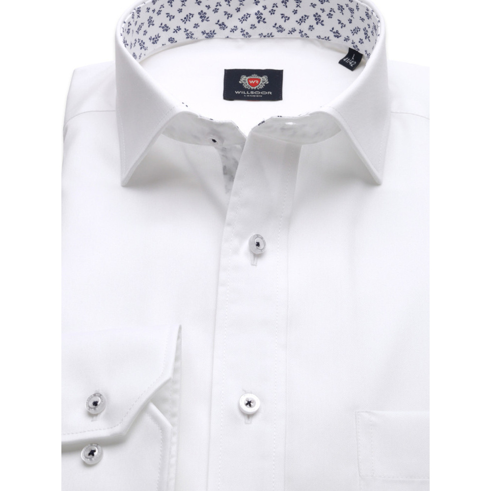 London shirt in white (height 176-182 and 188-194) 10235