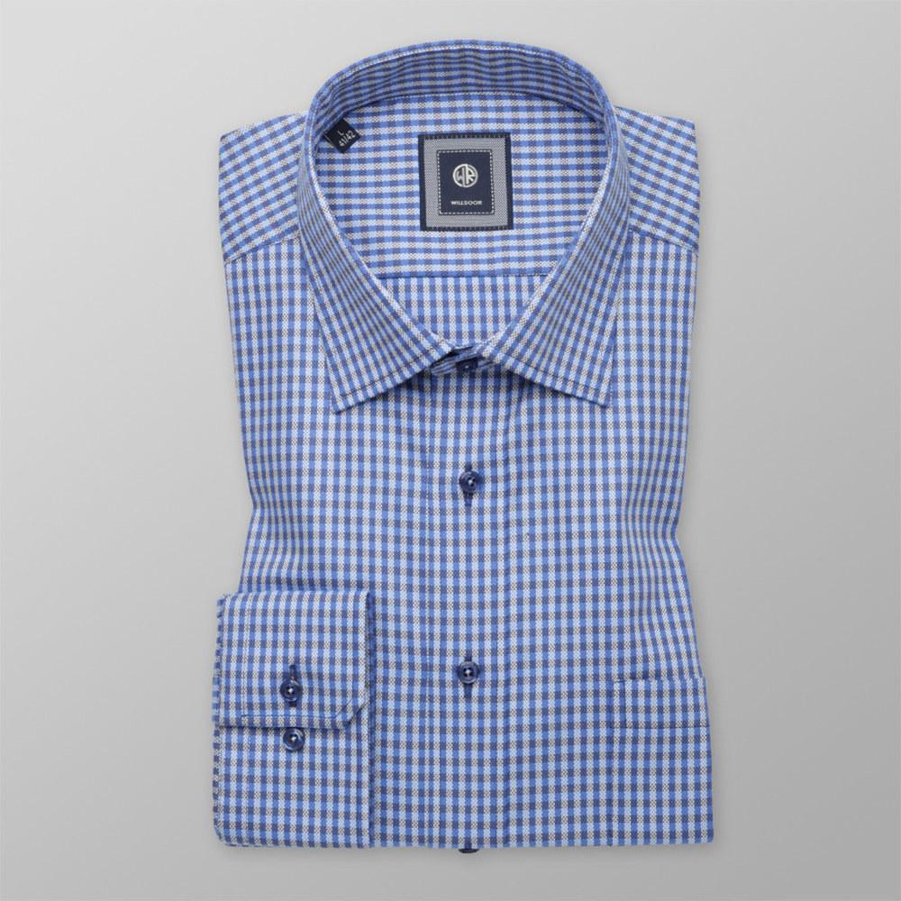 26205eca38 Slim Fit checkered shirt (height 176-182) 10289 - willsoor.eu
