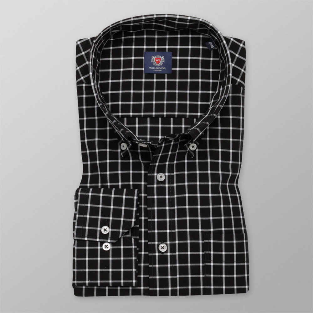 London shirt with checked pattern (height 188-194) 10362