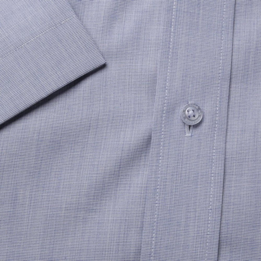 Slim Fit shirt in grey-blue (height 176-182) 10497