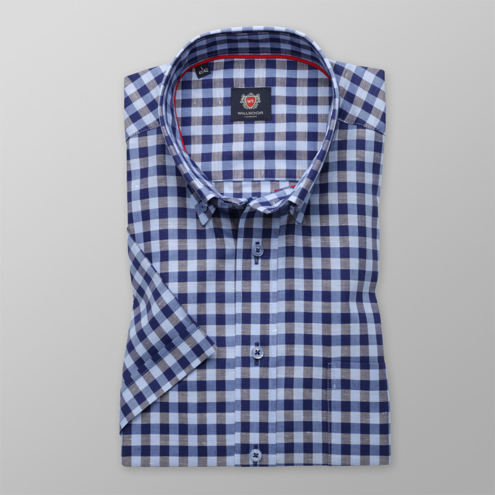 London shirt with check pattern (height 176-182) 10707