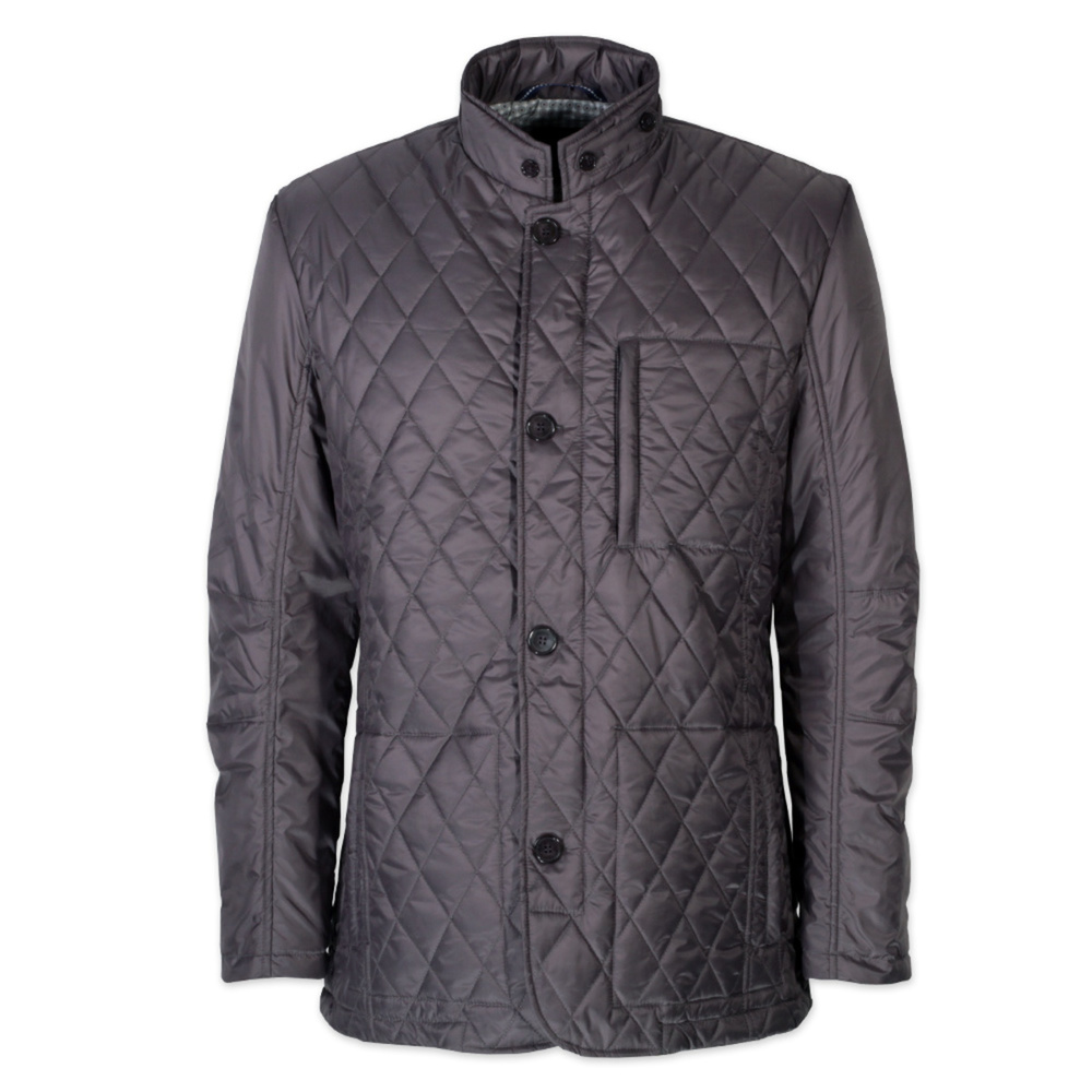 Quilted jacket DUCA in grey (size 3XL) 10812