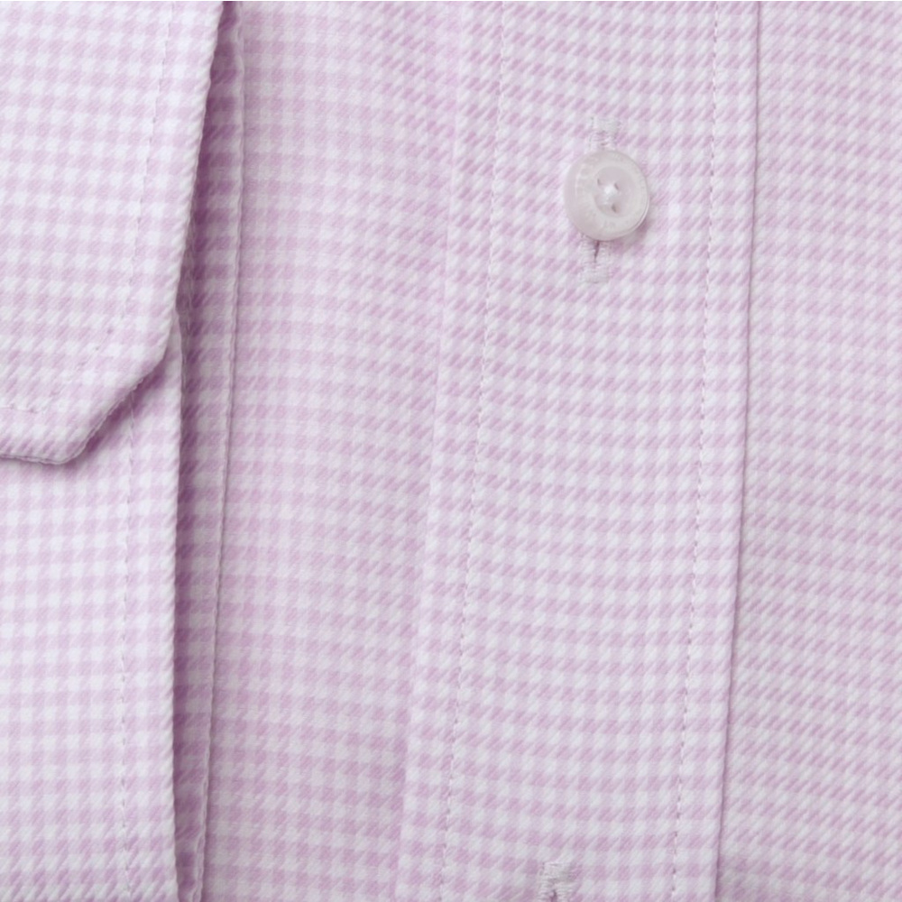 Slim Fit shirt pink pattern (height 176-182 and 188-194) 11014