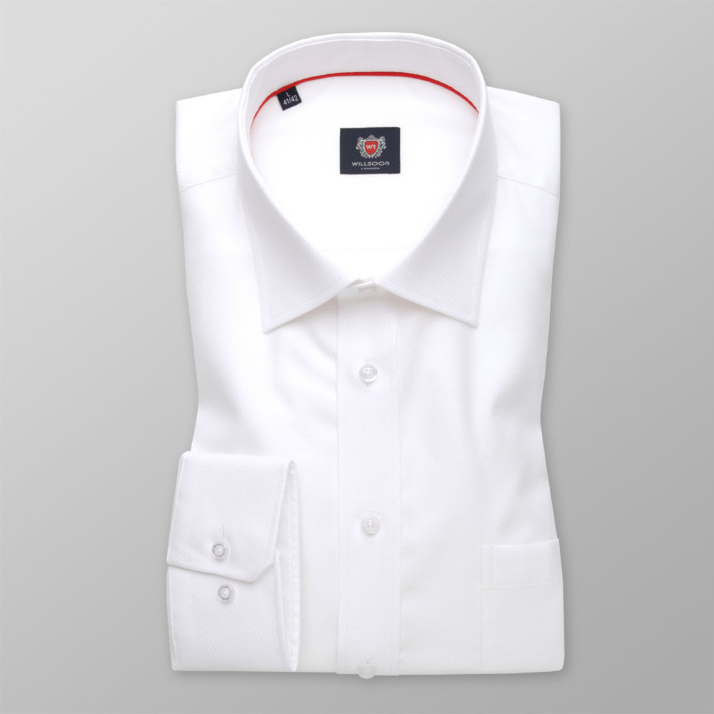 London shirt in white color (height 176-182 and 188-194) 11021