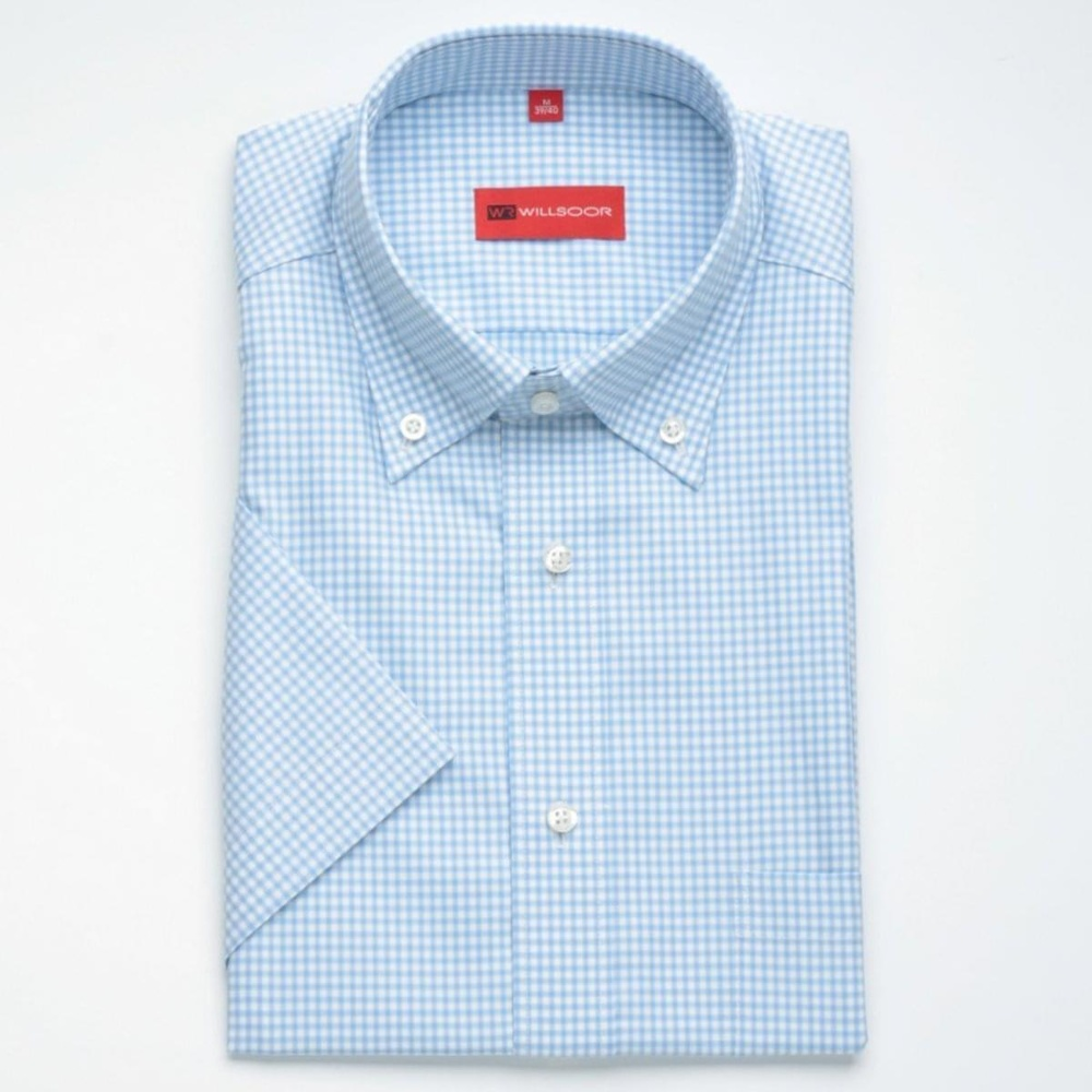 Men shirt WR Slim Fit with short sleeve (height 176/182) 1276