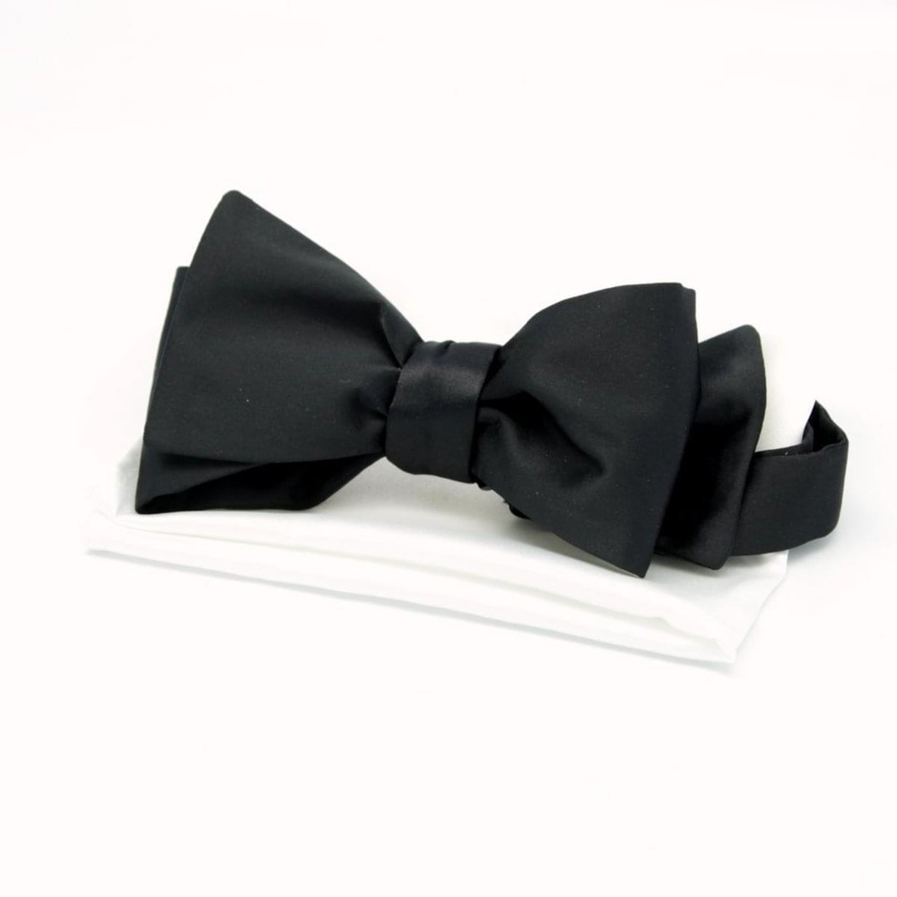 Men tied butterfly Willsoor 4234 in black color