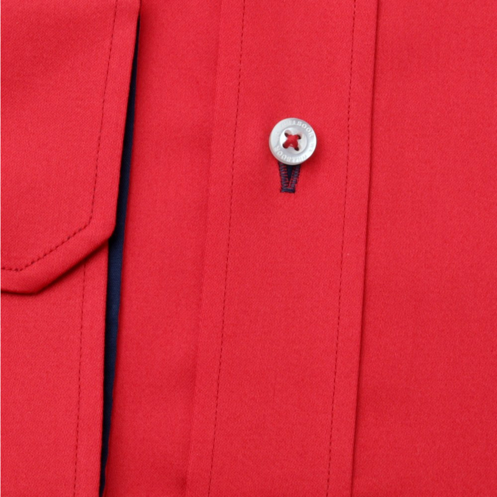Men shirt WR Slim Fit in red color (height 176-182) 4539