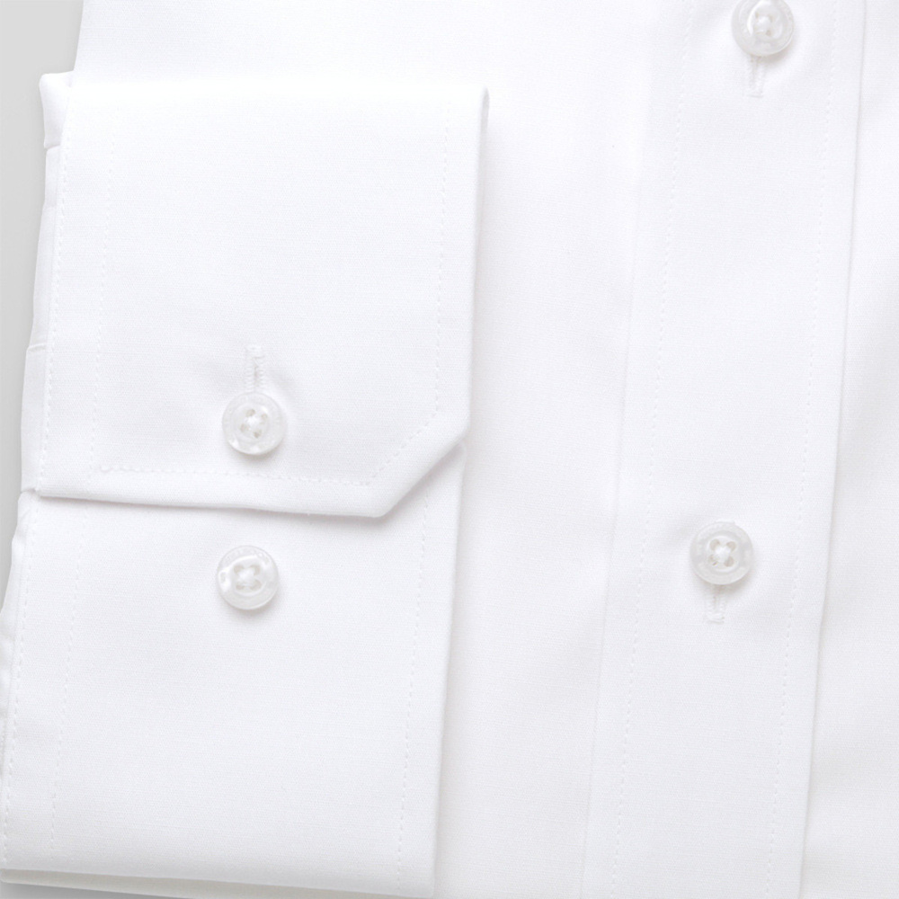 Men shirt WR Classic in white color (height 176-182 I 188-194) 4572