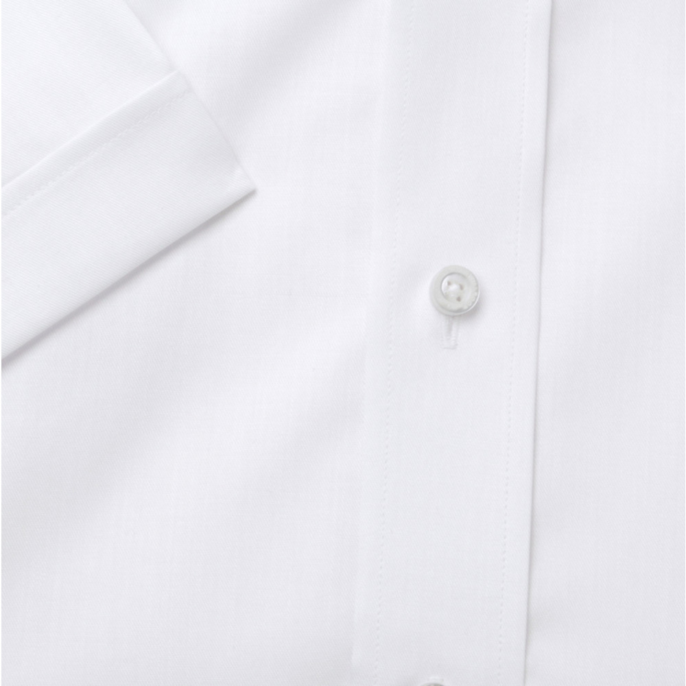 Men shirt WR London slim fit with short sleeve in white color (height 176-182) 4796