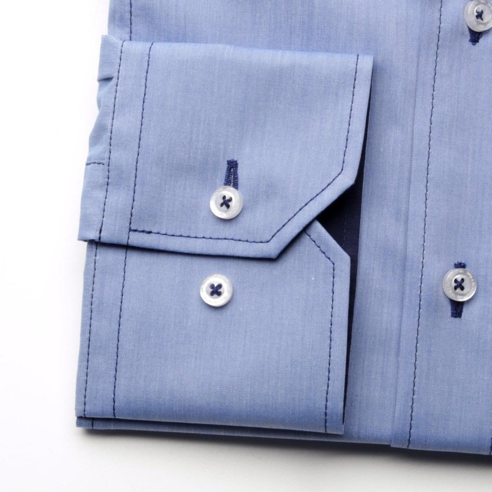 Men shirt WR Slim Fit in blue color (height 176-182) 5125