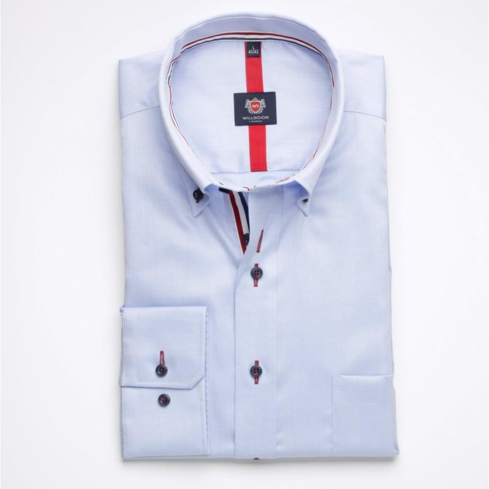 Men shirt WR London in blue color (height 188-194) 5276