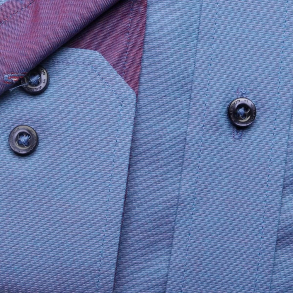 Men shirt WR London in blue color (height 188-194) 5347