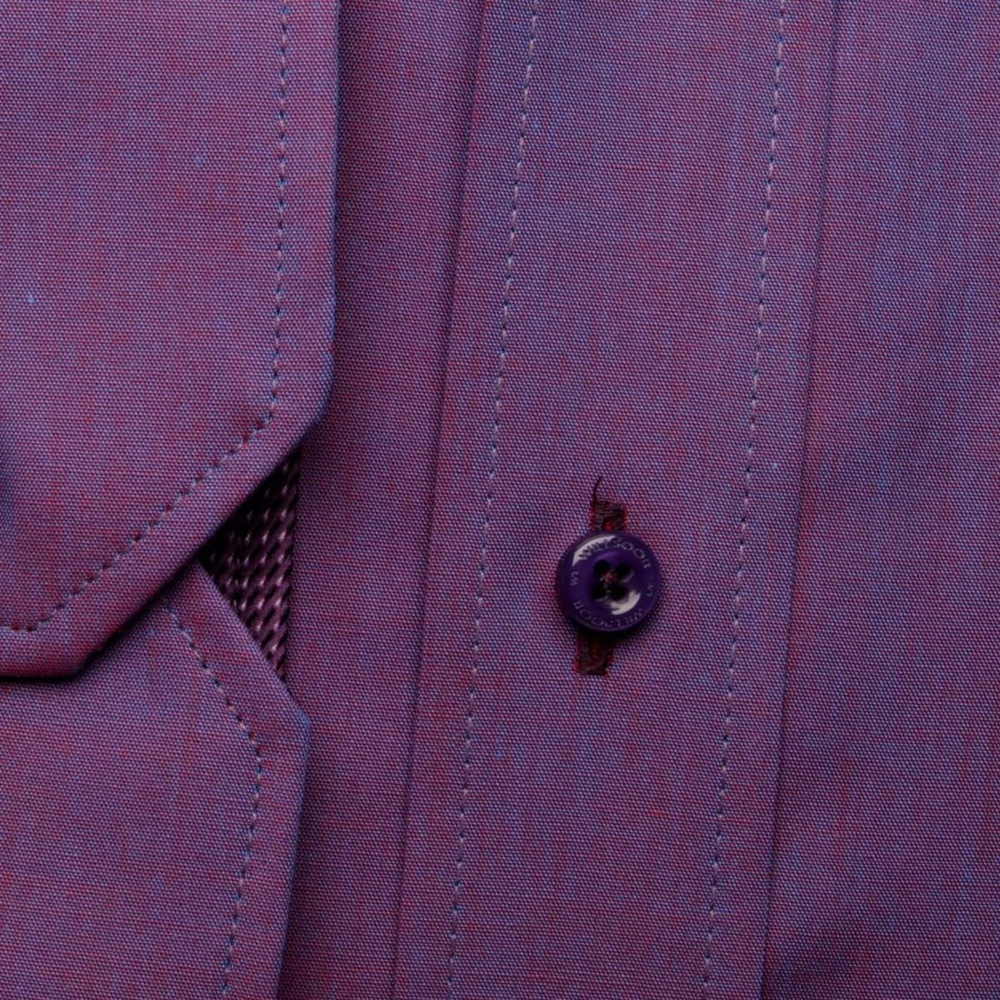 Men shirt London in purple color (height 188-194) 5436