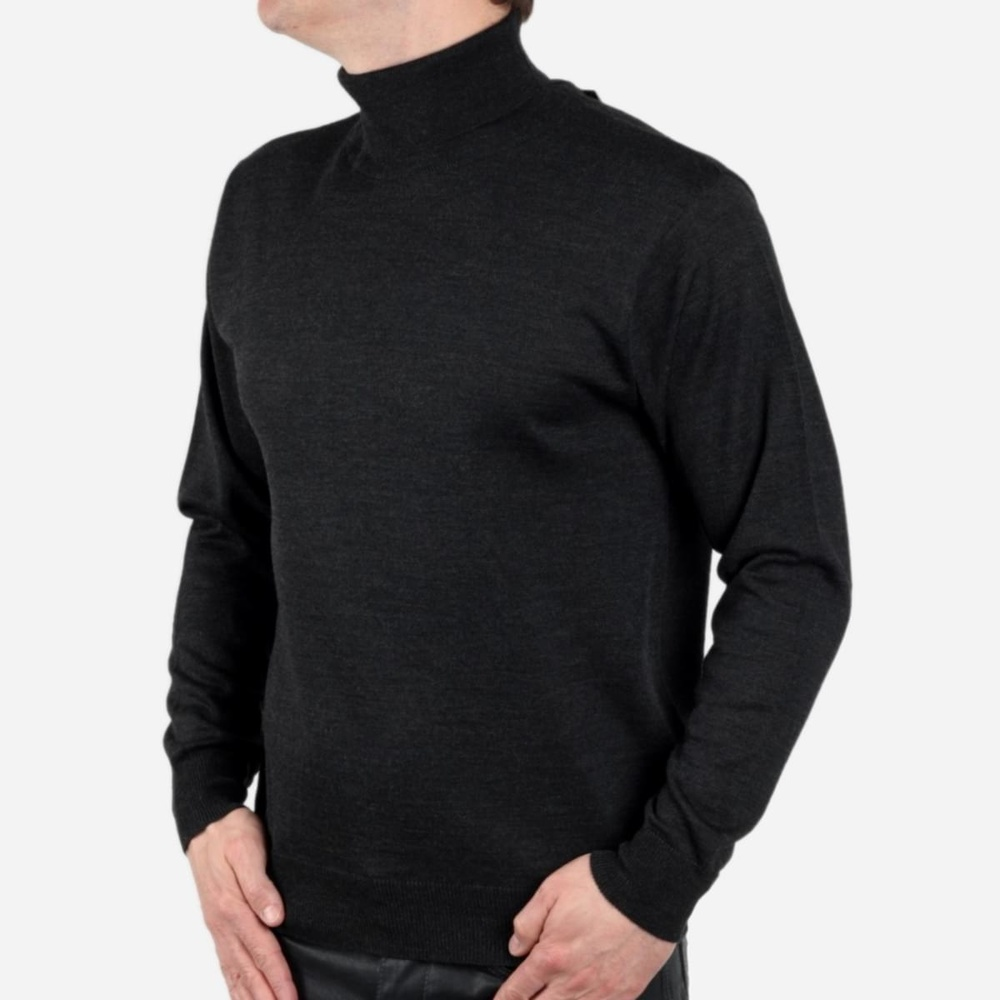 Golf turtleneck Willsoor - anthracite 546