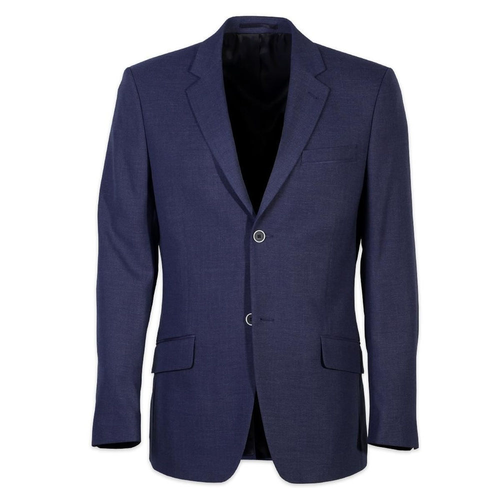 Men suit jacket Willsoor 5470 in dark blue color