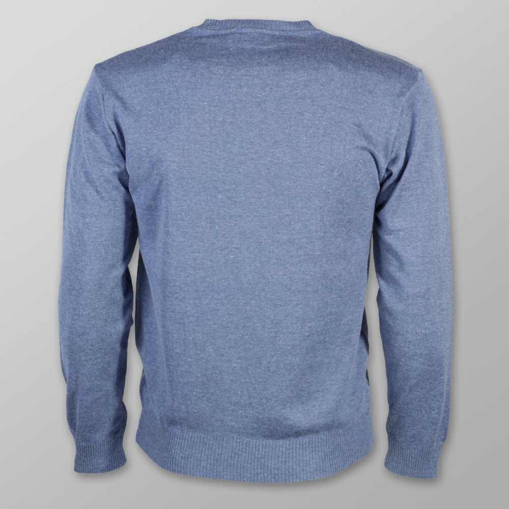 Men sweater Willsoor 5757 in gray-blue color