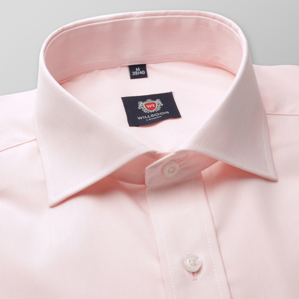 Men classic shirt London (height 164-170) 5970 in pink color with formula 2W Plus