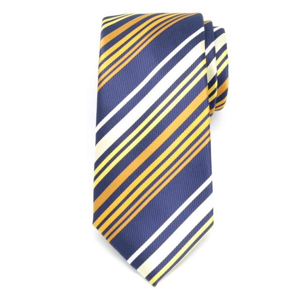 Men tie of microfiber (pattern 1156) 6050 with strips