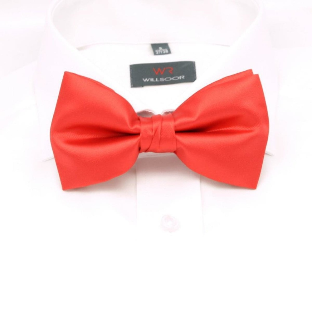 Men tied butterfly Willsoor 6111 in red color