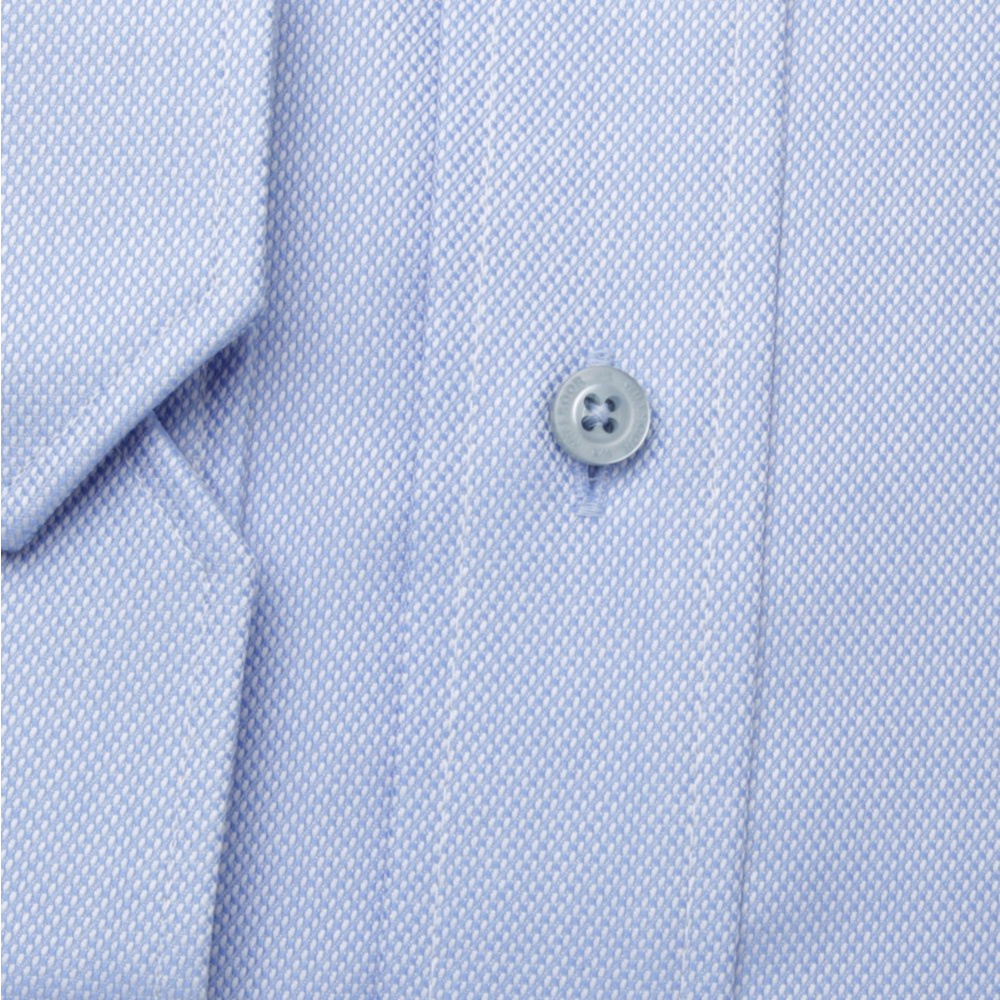 Men slim fit shirt (height 176-182) 6321 in light blue color with formula Easy Care