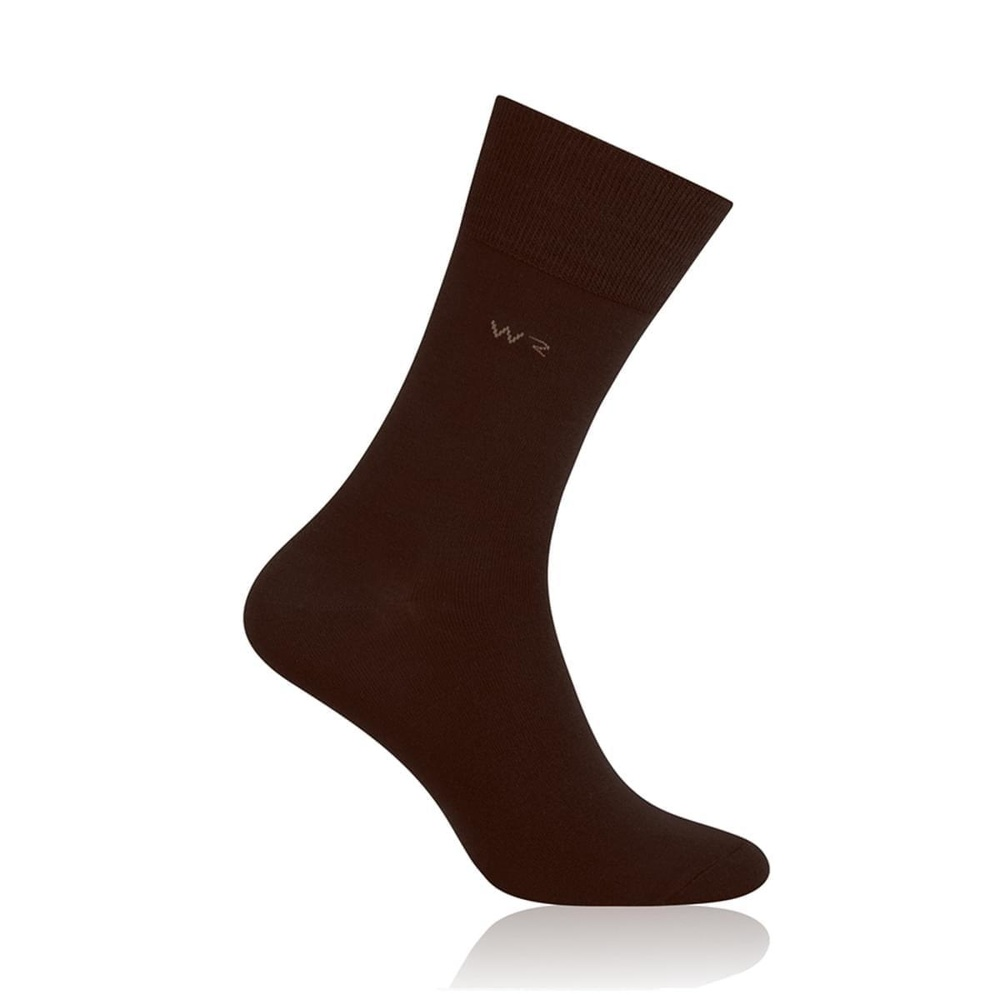Men bamboo socks Willsoor 6931 in brown color