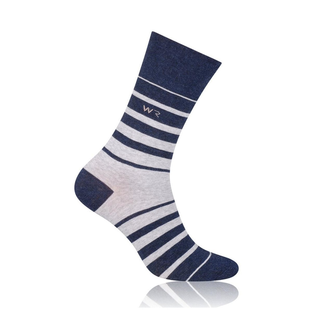 Men socks Willsoor 6964 in blue color