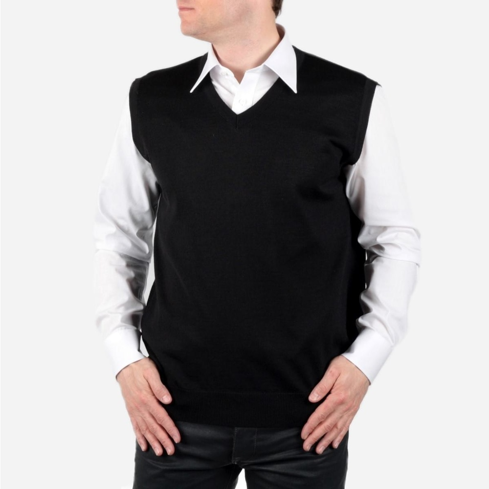 Men vest Willsoor - black 703