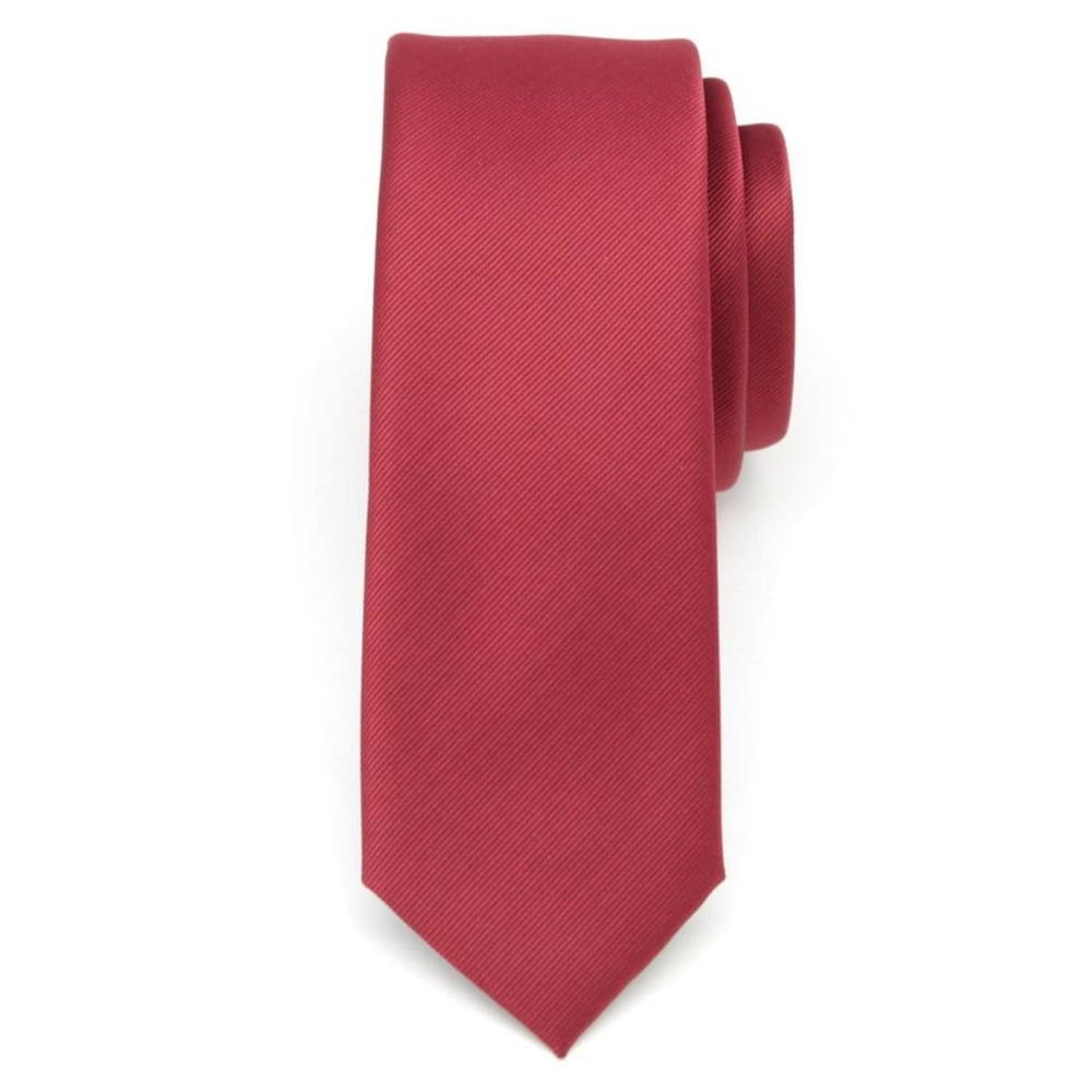 Men narrow tie (pattern 7202) of microfiber