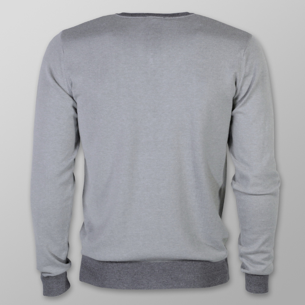 Men sweater Willsoor 7877 in gray color