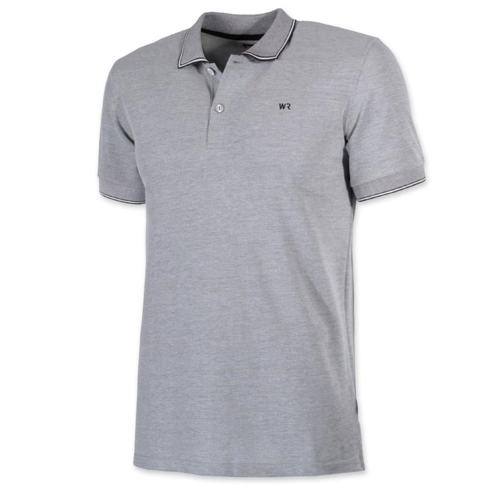 Men Polo T Shirt Willsoor Size To 5xl 8144 In Gray Color Willsoor
