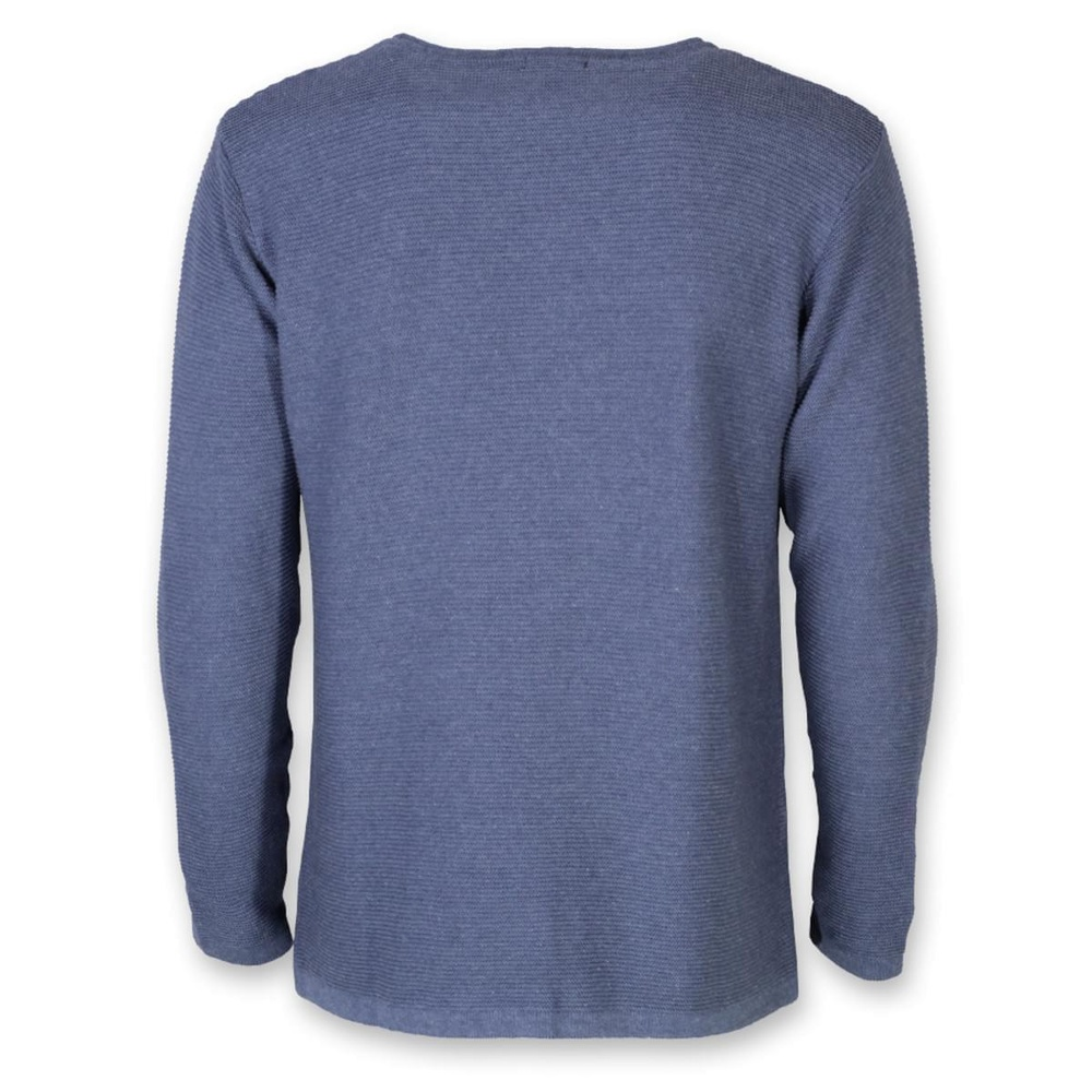 Men's thin pullover Willsoor 8233 in blue color