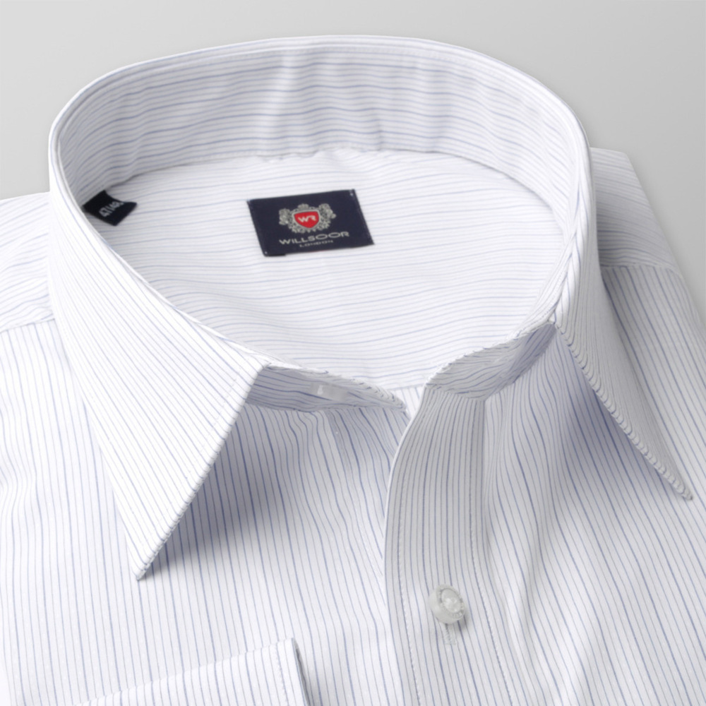 Men's Classic Cut Shirt London (height 176-182 + 188-194) 8258 With Stripes