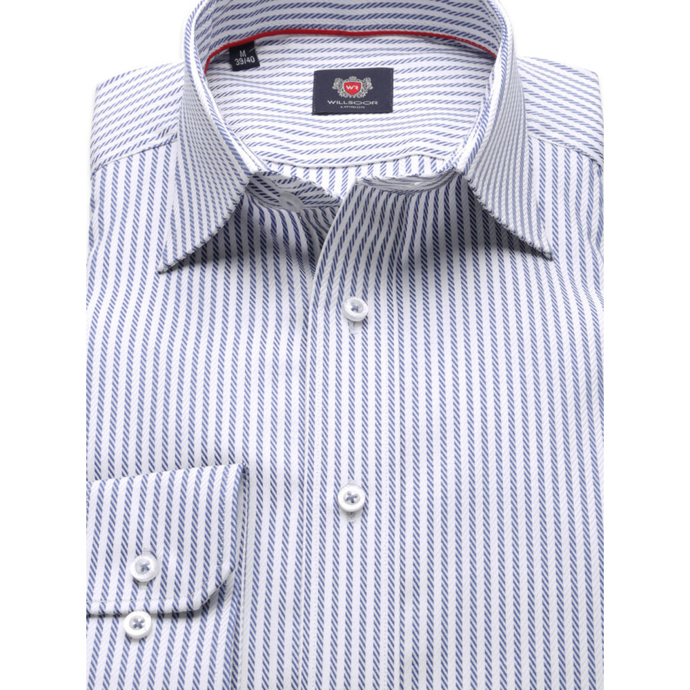 Men's Slim Fit Cut London (height 176-182) 8261 with Stripes