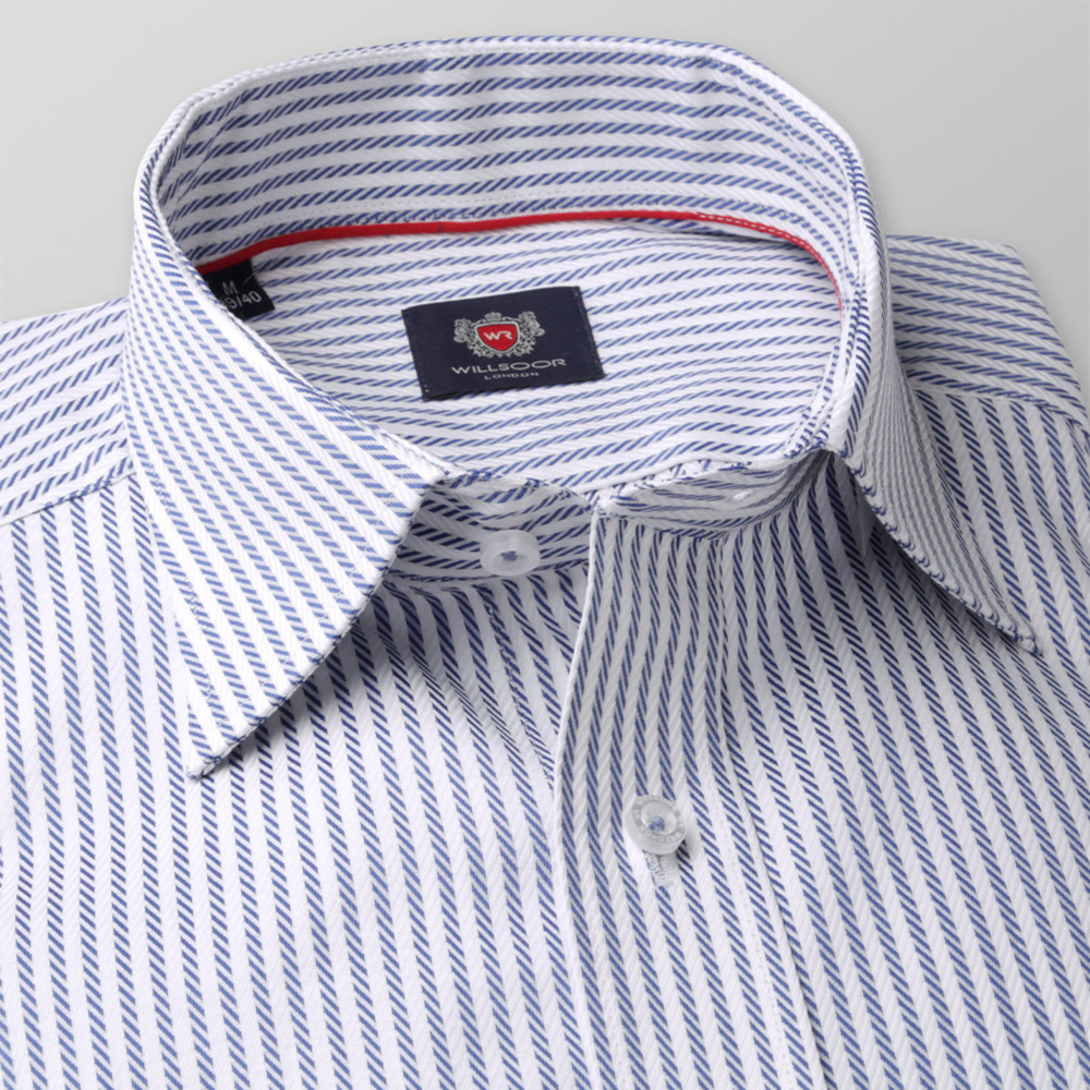 Men's Classic Shirt London (height 176-182) 8262 with Stripes