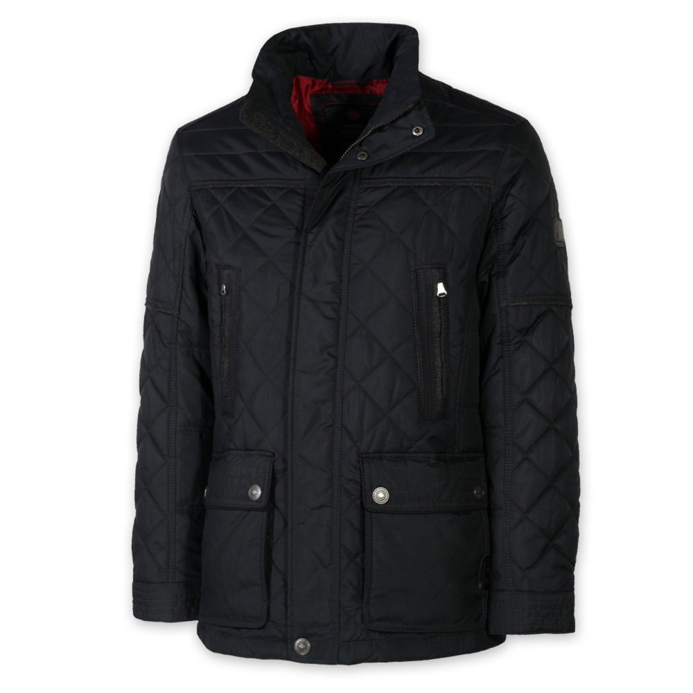 Men quilted jacket . Redpoint 8403 in blue color
