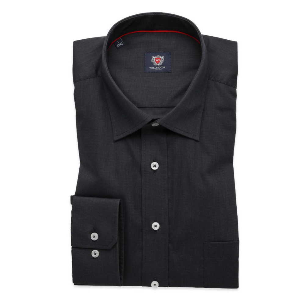 Men's graphite classic shirt London (height 188-194) 8509