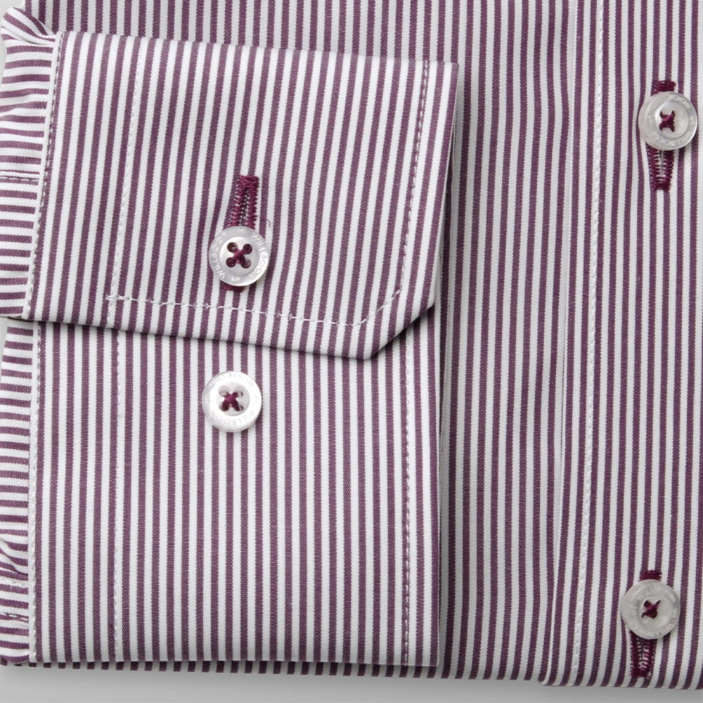 Men's striped classic shirt London (height 176-182) 8595