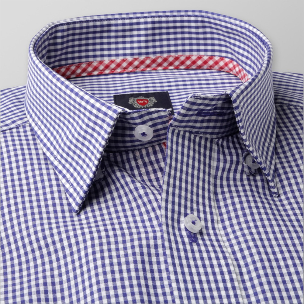 Men's checkered classic shirt London (height 176-182) 8650 2W Plus