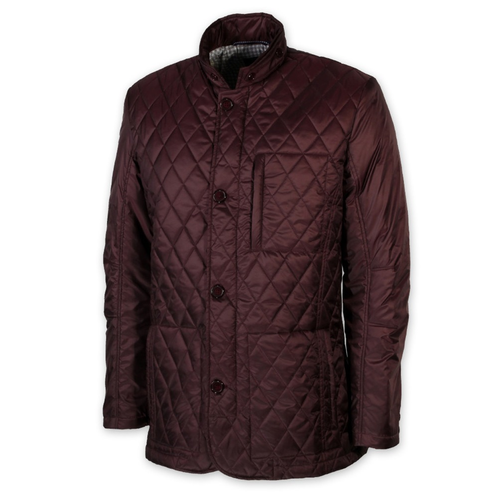 Men quilted jacket DUCA (size. 3XL - 5XL) 8721
