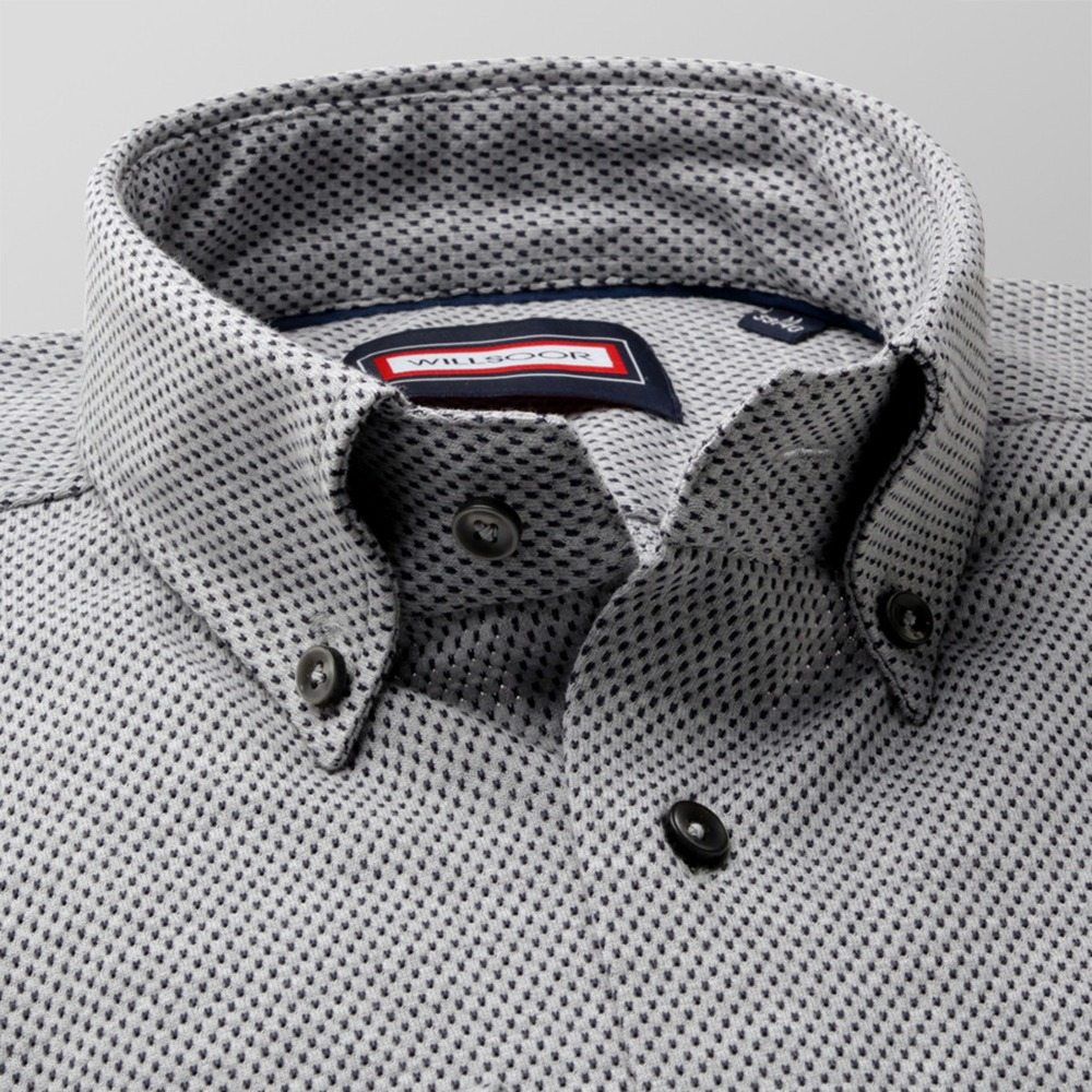 Men's slim fit shirt (height 176-182 and 188-194) 8899