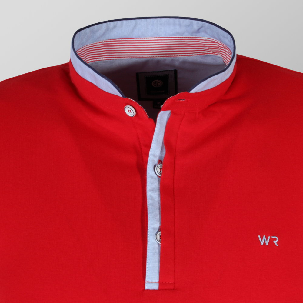 Mens classic polo shirt Willsoor (sizes to 5XL) 9301