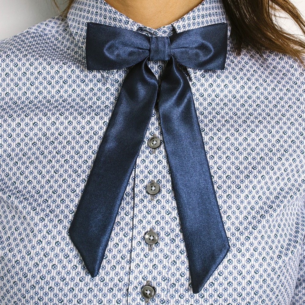 Womens blue bowtie Willsoor 9307